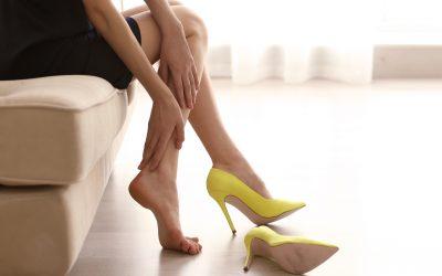 Los zapatos tacones y su uso prolongado
